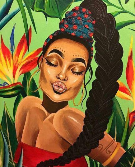 4ef56182bdb9179e1e1595cdf91a12cf--dope-girl-art-african-artwork