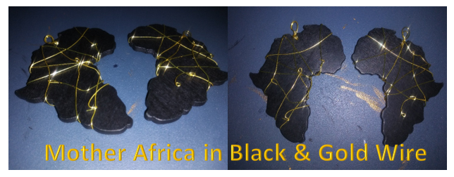 Africa in Gold and Black